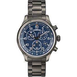 Nato Shop - Timex Expedition Uhr Field Chrono blau Edelstahlband