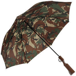 Umbrella Weapon Regenschirm in Gewehroptik camo