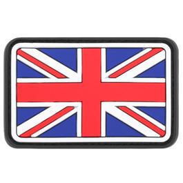 3D Rubber Patch United Kingdom vollfarbig