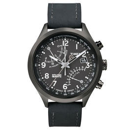 Timex Intelligent Quartz Racing Flyback Chronograph schwarz