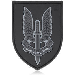 3D Rubber Patch Who Dares Wins SAS blackops