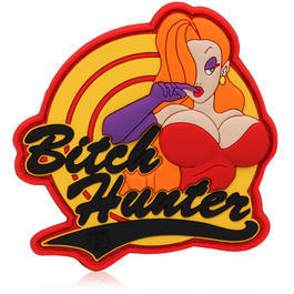 3D Rubber Patch Bitch Hunter fullcolor