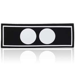 US Shop - 3D Rubber Patch Polizeifunktion Gruppenführer schwarz weiß
