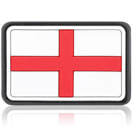3D Rubber Patch Flagge England St. George Kreuz