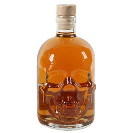 Klondike's Finest Delight Gold Rum Skull-Bottle 25% Vol. 0,5l
