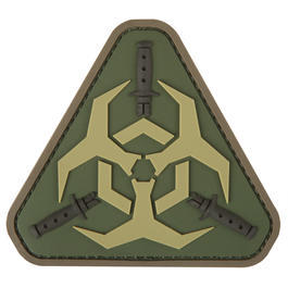 Mil-Spec Monkey 3D Rubber Patch Outbreak Response Multicam