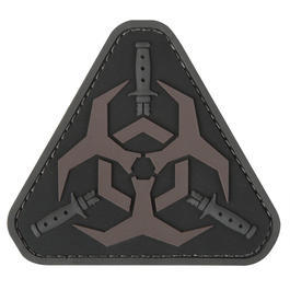 Mil-Spec Monkey 3D Rubber Patch Outbreak Response DarkOps