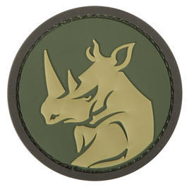 Mil-Spec Monkey 3D Rubber Patch Rhino Head Multicam