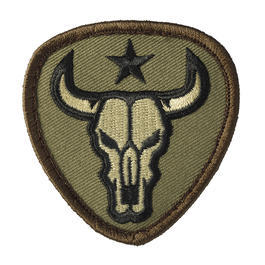 Mil-Spec Monkey Patch Bull Skull forest