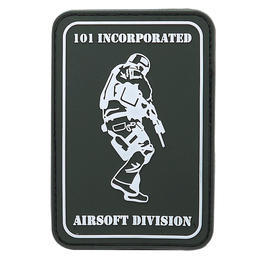 3D Rubber Patch 101 Incorporated Airsoft Division