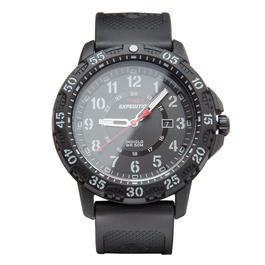 Timex Armbanduhr Expedition Ruggend Resin Kunststoffband schwarz