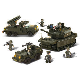 Panzermodell - SlubanArmee SetII M38-B6800, 602 Bauteile