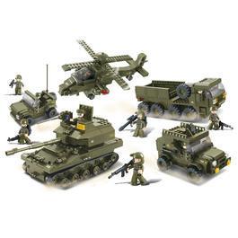 Panzermodell - SlubanArmee Set IM38-B0311,1001 Bauteile
