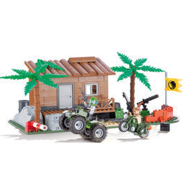 Cobi Bausatz Jungle Base 252 Teile