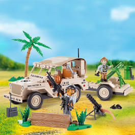 Cobi Bausatz Jeep Willys MB Mortar 192 Teil