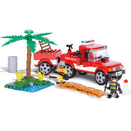 Cobi Bausatz Action Town Fire Rescue 202 Teile