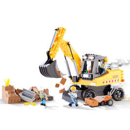 Cobi Bausatz Construction Works 353 Teile