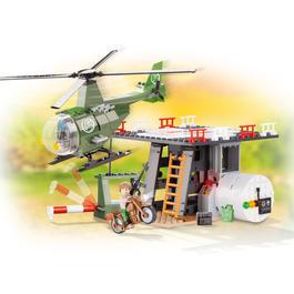Cobi Small Army Bausatz Helicopter Base 202 Teile