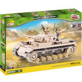 Panzermodell - Cobi Bausatz Panzer III Ausf. J 402 Teile