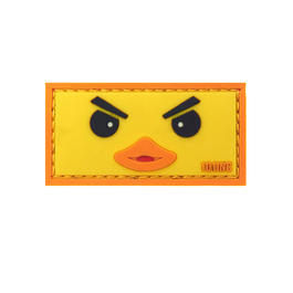 101 INC. 3D Rubber Patch Duckface gelb