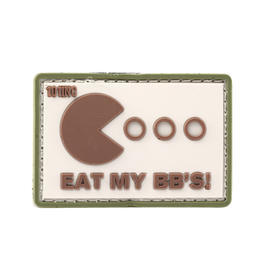101 INC. 3D Rubber Eat Patch My BB's sand/grün