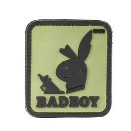 101 INC. 3D Rubber Patch Badboy grün