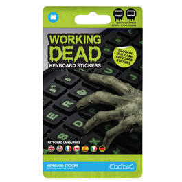 Working Dead Keyboard Sticker