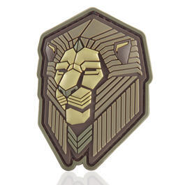 Mil-Spec Monkey 3D Rubber Patch Industrial Lion multicam