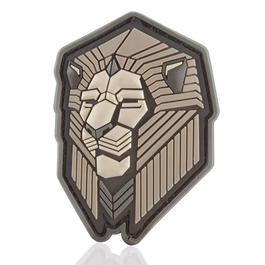 Mil-Spec Monkey 3D Rubber Patch Industrial Lion urban