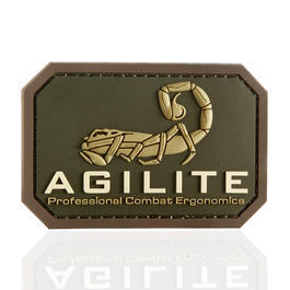 Mil-Spec Monkey 3D Rubber Patch Agilite multicam