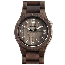 WEWOOD Armbanduhr Alpha Chocolate