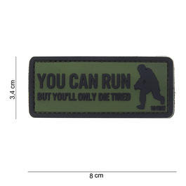101 INC. 3D Rubber Patch You can run oliv/schwarz