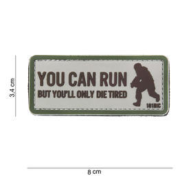 101 INC. 3D Rubber Patch You can run sand/oliv