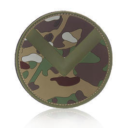 101 INC. 3D Rubber Patch Spartan Shield mc