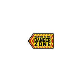 Mil-Spec Monkey 3D Rubber Patch Danger Zone Full Color