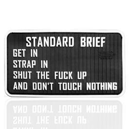 JTG 3D Rubber Patch Standard Briefing fullcolor