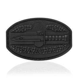 JTG 3D Rubber Patch CombatAction black