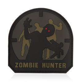 101 INC. 3D Rubber Patch Zombie Hunter ACU-A