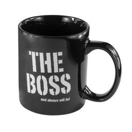 Tasse The Boss 300 ml schwarz