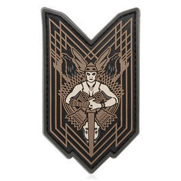 Mil-Spec Monkey 3D Rubber Patch Walkure PVC urban