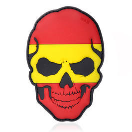 101 INC. 3D Rubber Patch Skull Spanien