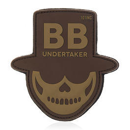 101 INC. 3D Rubber Patch BB Undertaker desert