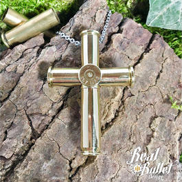 Real Bullet Halskette RBD Bullet Cross No.1