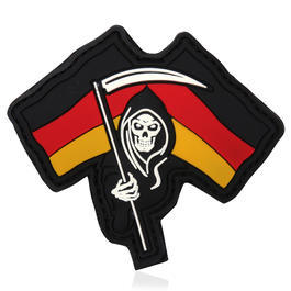 3D Rubber Patch German Reaper