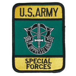Textil Patch U.S. Army Special Forces mit Bügelfläche