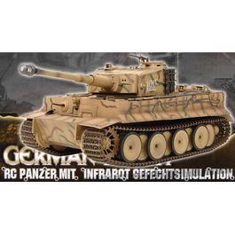 Panzermodell - Tiger I RC Panzer 1:16 mit Infrarot Gefechtssimulation