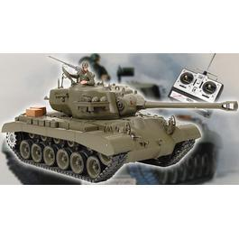 Panzermodell - Pershing M26 1:16, schussfähig mit Rauch & Sound