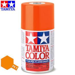 Tamiya PS-7 orange Lexan Spraydose 100ml