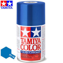 Tamiya PS-16 Metallic blau Lexan Spraydose 100ml
