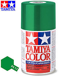 Tamiya PS-17 Metallic gr�n Lexan Spraydose 100ml